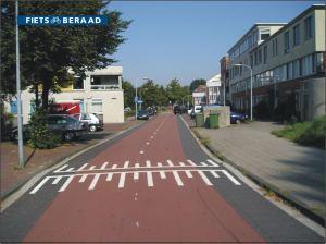 1 haarlem, venkelstraat, fietsstraat